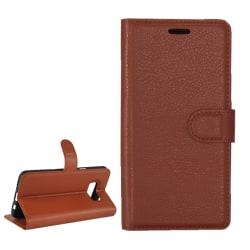 Samsung S8  Plånbok Läder Brown Sugar
