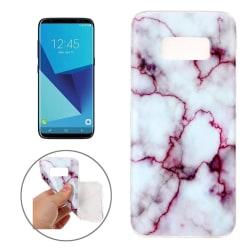 Samsung S8 Skal Marmor Lila TPU