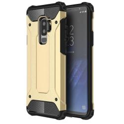 Samsung S9 Plus Pansar Skal Guld (OBS Stora modellen 6,2 tum)