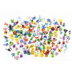 144x Söta & Färgglada Pokémon Figurer (BIG PACK)
