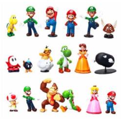 18st Super Mario Bros Mario Wario Donkey Kong Waluigi