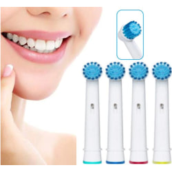 4st Tandborsthuvuden Oral-B Kompatibla- EB17S