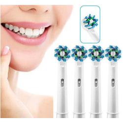 4st Tandborsthuvuden Oral-B Kompatibla- EB50A