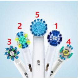 8-Pack Tandborsthuvuden Oral-B Kompatibla Modell 1