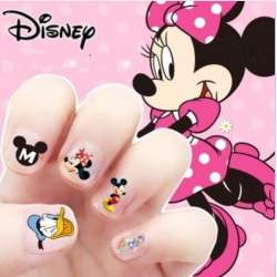 Disney Minnie Mouse Nagel Stickers 170st Nagelklistermärken