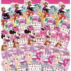 Disney Nagel Stickers 170st Nagelklistermärken 5st Modell My little Pony Movie