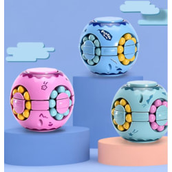 Fidget Toy Puzzle Ball Pop It Cube 3st Fäger