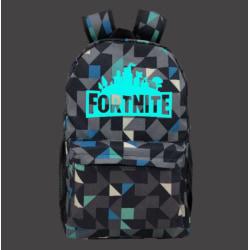 Fortnite ryggsäck med geometriskt mönster Night Luminous Black