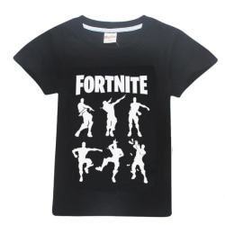 Fortnite T-Shirt för Barn (Silhouettes) Black 140