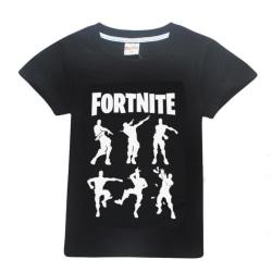 Fortnite T-Shirt för Barn (Silhouettes) Black 150 Svart