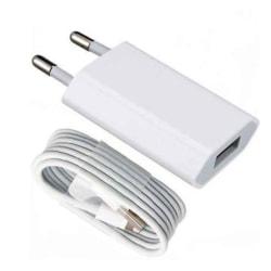 iPhone  Laddare 5,6,7,8,X+Lightning Kabel
