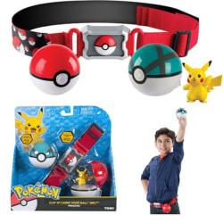 Pokémon Clip N Carry Poké Ball Belt- Pokemon Pikachu