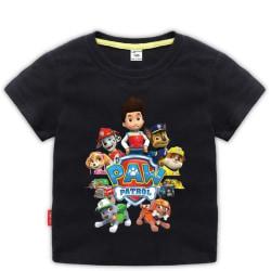 T-SHIRT PAW PATROL - Kort ärm T-shirt Black 120