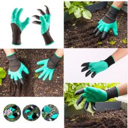 Trädgårdshandskar med klor - Gräv och kratta