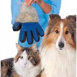 True Touch - Borsthandske - Hund - Katt Höger hand - Rosa- Fri F