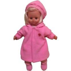 Rosa Kappa-set i fleece till Skrållan rosa