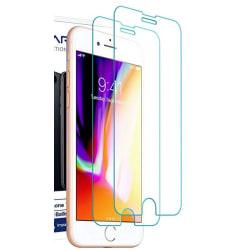 2 st härdad glas för iphone 6+/6s+ 2.5D