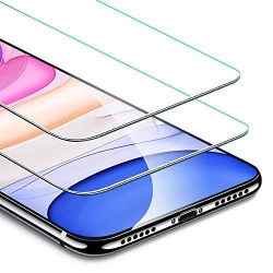 2 st härdat glas för iphone  11 pro max eller Xs max
