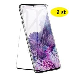 2 st heltäckande skärmskydd för Samsung S20