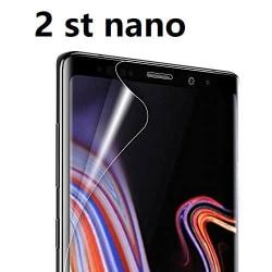 2 st Nano filmfolie för  Samsung S9 plus