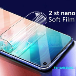 2 st nanofilm  skärmsydd för samsung S9