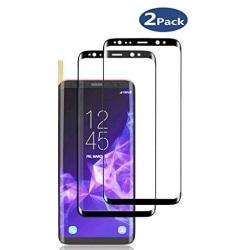 2 st  skärmskydd för Samsung S9 plus