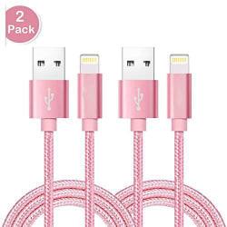 2 st top kvalitet 3 m iphone rosa