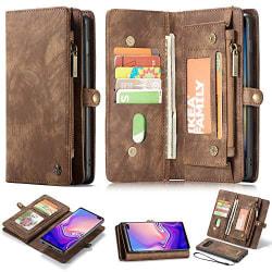 CaseMe 008 för Samsung S10 plus brun