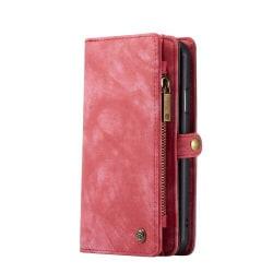 caseMe 008 med 8 kort platser för iphone 11 röd