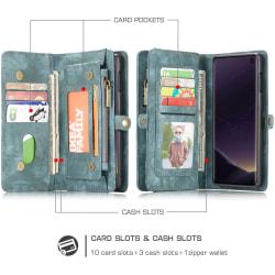 CaseMe plånboksväska p30 pro grön
