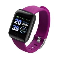 Fitness smart klocka svart armband