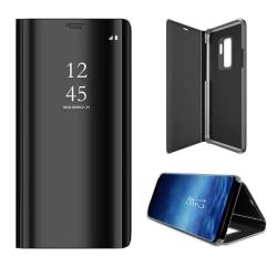 flipcase för samsung s9 plus svart