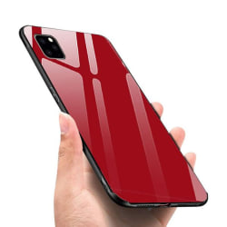 Forcell Glass  fodral för iphone 11 pro max röd
