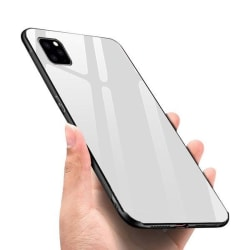 Glass  fodral för iphone 12 pro max vit
