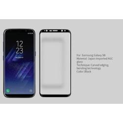 Härdat glas 10 D för Samsung S8 plus