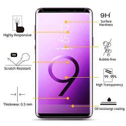 heltäckande skärmskydd  för Samsung Galaxy S9 plus