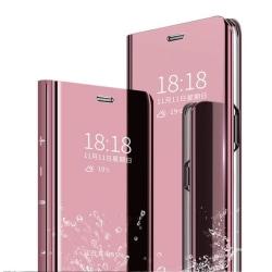 hög kvalitet flip fodral för Samsung A70 rosa