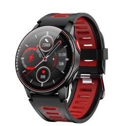 L6 smart sport klocka röd