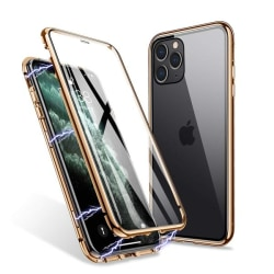 magnet fodral för din iphone 11 pro guld