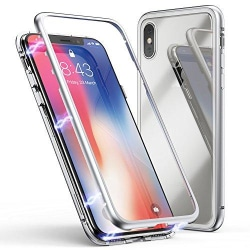 Magnetisk iphone X/Xs skall silver