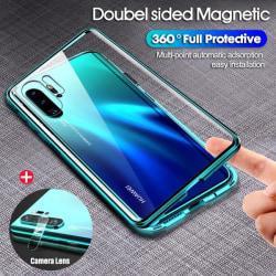 magneto fodral med Huawei P30 pro grön