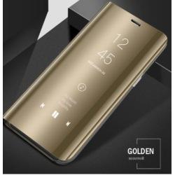 Samsung flip case S7 Edge guld