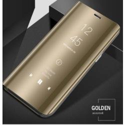 Samsung flip case S8 plus guld Gold
