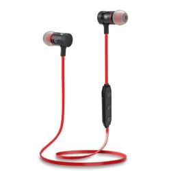 trådlösa hörlurar röd