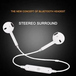 trådlösa mobil hörlurar vit