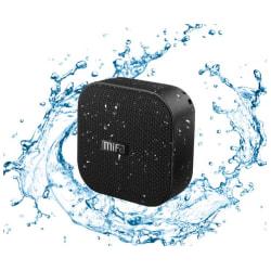 Vattentät Mifa Bluetooth-högtalare svart