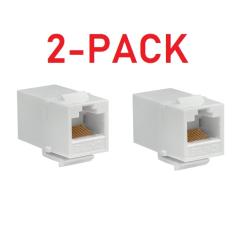 2-pack Cat5e skarvdon modul keystone (ho-ho)