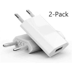 2 Pack Laddare till iPhone / Samsung mfl 5V / 1A