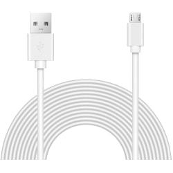 Laddkabel Micro USB |2M| Samsung/HTC/LG/Nexus/Nokia SVART