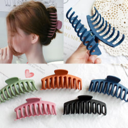 Big Hair Claws Clips Shower Crab Clamps Shark Black